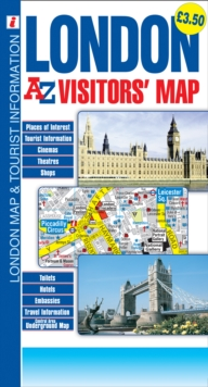 London : A-Z Visitors Map, Sheet map, folded Book