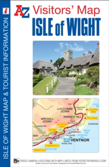 Isle of Wight Visitors Map, Sheet map, folded Book