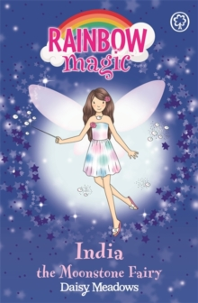 Rainbow Magic: India the Moonstone Fairy : The Jewel Fairies Book 1, Paperback Book