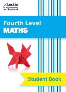 CfE Maths Fourth Level Pupil Book, Paperback Book