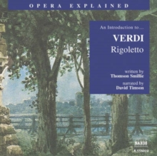 """Rigoletto"" : An Introduction to Verdi's Opera, eAudiobook MP3 eaudioBook"