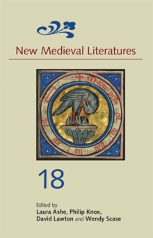 New Medieval Literatures 18, Hardback Book