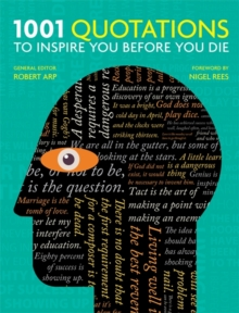 1001 Quotations to inspire you before you die, Paperback Book