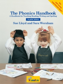 The Phonics Handbook : in Print Letters (BE), Spiral bound Book