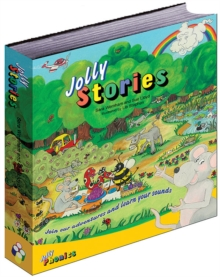 Jolly Stories : In Precursive Letters (British English edition), Hardback Book