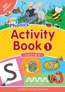 Jolly Phonics Activity Book 1 : in Precursive Letters (BE), Paperback / softback Book