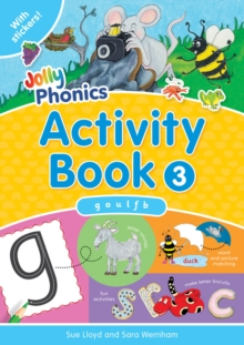 Jolly Phonics Activity Book 3 : in Precursive Letters (British English edition), Paperback / softback Book