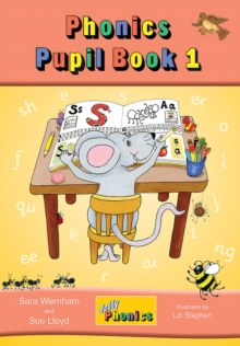 Jolly Phonics Pupil Book 1 (colour edition) : in Precursive Letters (BE), Paperback Book