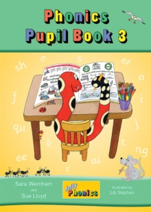 Jolly Phonics Pupil Book 3 (colour edition) : in Precursive Letters (BE), Paperback Book