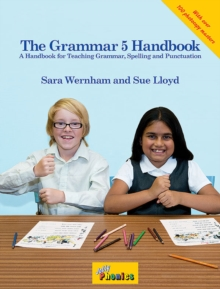 The Grammar 5 Handbook : in Precursive Letters (BE), Spiral bound Book