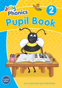 Jolly Phonics Pupil Book 2 : in Print Letters (British English edition), Paperback / softback Book