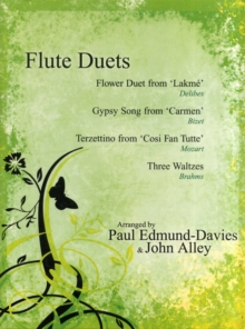 FLUTE DUETS THE FLOWER DUET FROM LAKME, Paperback Book