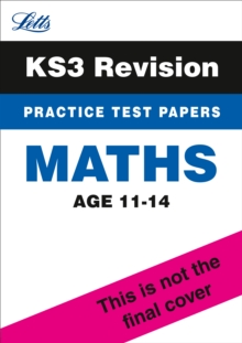 KS3 Maths Practice Test Papers, Paperback Book