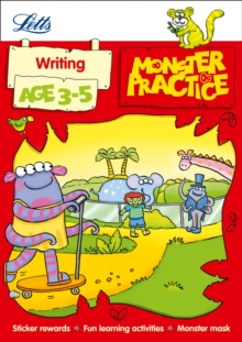 Writing Age 3-5, Paperback Book