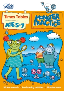 Times Tables Age 5-7, Mixed media product Book