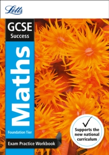 GCSE Maths Foundation Exam Practice Workbook, with Practice Test Paper, Paperback Book