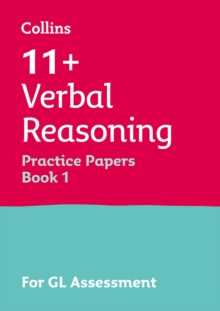 11+ Verbal Reasoning Practice Test Papers - Multiple-Choice: for the GL Assessment Tests : For the 2020 Gl Assessment Tests, Paperback / softback Book