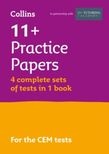 11+ Practice Test Papers (Get test-ready) Bumper Book, inc. Audio Download: for the CEM tests, Paperback / softback Book