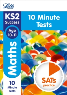 KS2 Maths SATs Age 10-11: 10-Minute Tests : 2018 Tests, Paperback Book