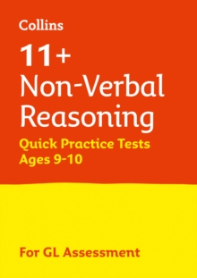 11+ Non-Verbal Reasoning Quick Practice Tests Age 9-10 for the GL Assessment tests, Paperback Book