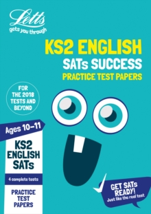KS2 English SATs Practice Test Papers : 2018 Tests, Paperback Book