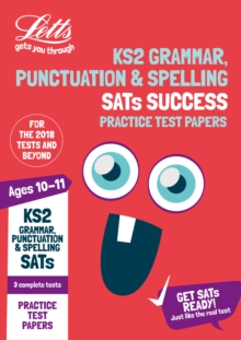 KS2 English Grammar, Punctuation and Spelling SATs Practice Test Papers : 2019 Tests, Paperback Book