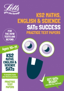 KS2 Maths, English and Science SATs Practice Test Papers : 2018 Tests, Paperback Book