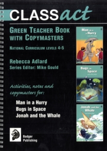 Class Act Green Teacher Book with Copymasters, Spiral bound Book