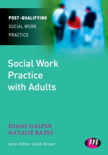 Social Work Practice with Adults, Paperback / softback Book