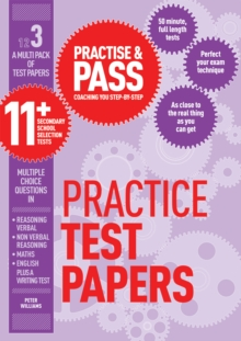 Practise & Pass 11+ Level Three: Practice Tests Variety Pack 1, Paperback Book