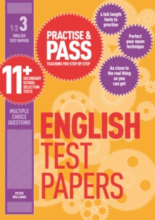 Practise & Pass 11+ Level Three: English Practice Test Papers, Paperback Book
