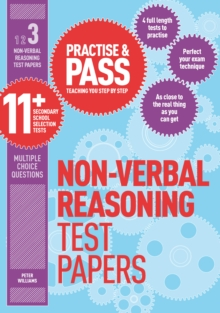 Practise & Pass 11+ Level Three: Non-verbal Reasoning Practice Test Papers, Paperback / softback Book