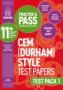 Practise and Pass 11+ CEM Test Papers - Test Pack 1, Paperback Book