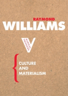 Culture and Materialism, Paperback / softback Book