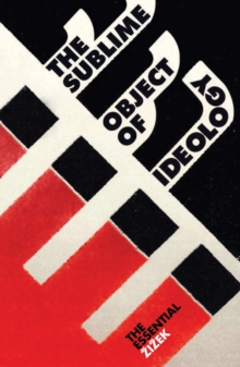The Sublime Object of Ideology, Paperback Book