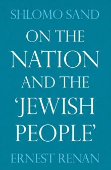 On the Nation and the Jewish People, Paperback / softback Book