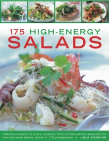 175 High-Energy Salads, Paperback / softback Book