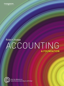 Accounting : A Foundation, Paperback / softback Book