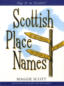 Scottish Place Names, Paperback / softback Book