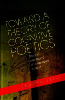 Toward a Theory of Cognitive Poetics, Paperback / softback Book