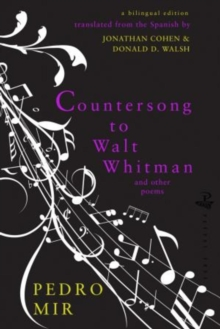 Countersong to Walt Whitman, Paperback Book