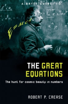 A Brief Guide to the Great Equations : The Hunt for Cosmic Beauty in Numbers, Paperback Book