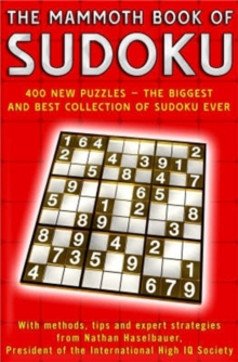 The Mammoth Book of Sudoku, Paperback Book