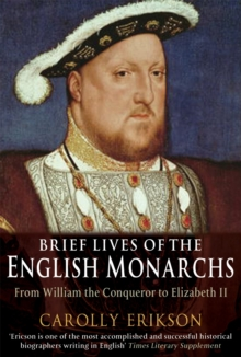 Brief Lives of the English Monarchs, Paperback Book