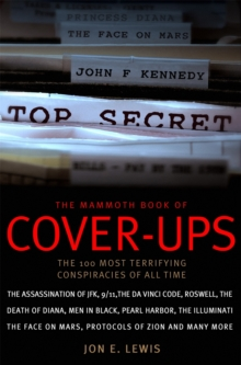 The Mammoth Book of Cover-ups, Paperback Book
