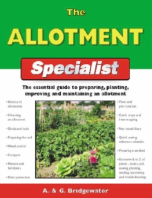 The Allotment Specialist, Paperback Book