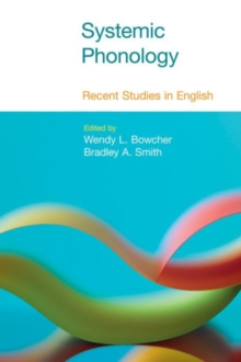 Systemic Phonology : Recent Studies in English, Paperback Book