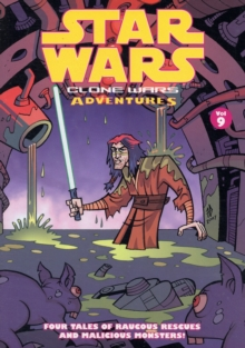 Star Wars - Clone Wars Adventures : v. 9, Paperback Book