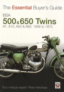 Bsa 500 & 600 Twins : The Essential Buyer's Guide, Paperback / softback Book