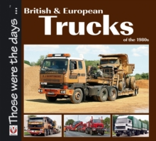 British and European Trucks of the 1980s, Paperback Book